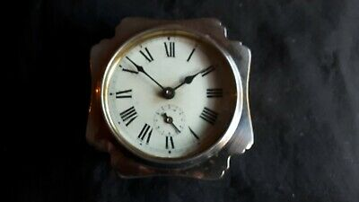 Antique JAPY FRERES French Alarm CLOCK 1890's