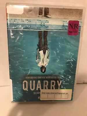 Quarry: The Complete First Season (DVD, 2017) Used Library Rental