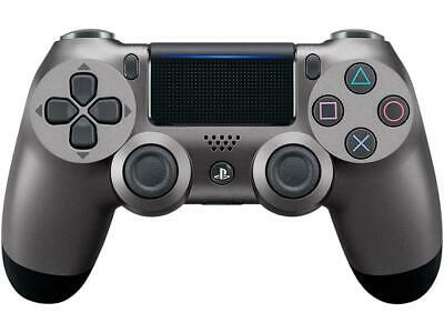 Sony - DualShock 4 Wireless Controller for Sony PlayStation 4 - Steel Black
