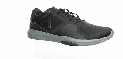 Reebok Mens Flexagon Force Black Cross Training Shoes Size 12 (772048)