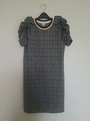 Gorgeous Girls River Island Checked Dress Aged 9-10 Years