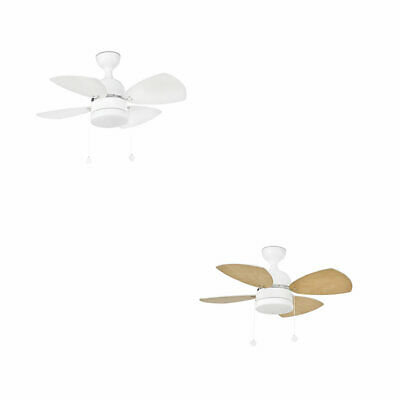 Design Ceiling Fan Mediterraneo White including Light 81,5 cm by faro