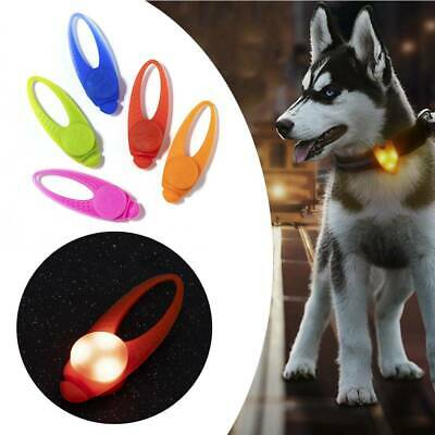Pet Puppy LED Flashing Luminous for Dog Collar Safety Light Night Sports Walking