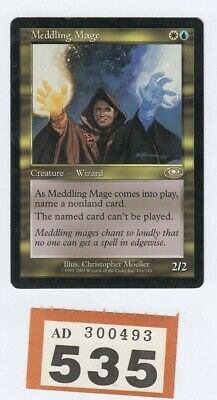 MTG Magic the Gathering - Meddling Mage - Planeshift