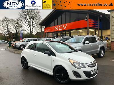 2013 Vauxhall Corsa 1.2 Limited Edition 3dr HATCHBACK Petrol Manual