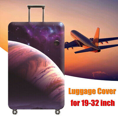 18-32'' Elastic Travel Luggage Cover Suitcase Protector Trolley Dustproof  ~