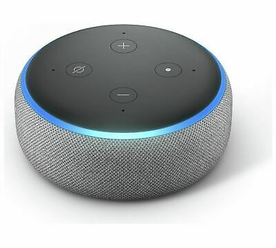 Amazon - Echo Dot - 3rd Generation - Smart Speaker - Charcoal Fabric