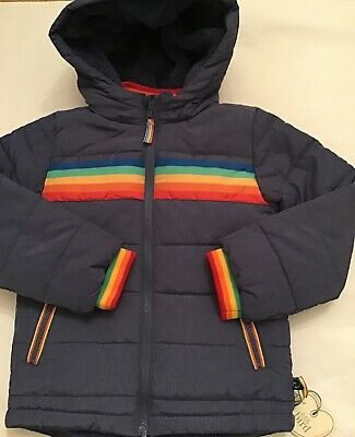 Little Bird By Jools Oliver Unisex Fur Lined 6-7 Years  Coat / Jacket 🍄🌈 Bnwt