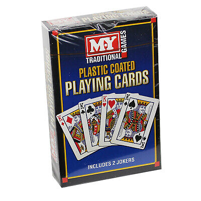 Traditional Playing Cards Plastic Coated M.Y Card Game Poker