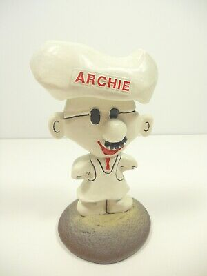 Archway Homestyle Cookies Advertising Mascot Figure ARCHIE Statuette Vintage