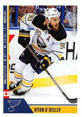 2018-19 Panini NHL Stickers Collection #448 Ryan O'Reilly St. Louis Blues  Offic