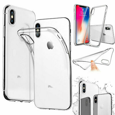 Clear Shockproof Silicone Case Cover For iPhone 11 Pro Max XR X XS Max 7 8 Plus