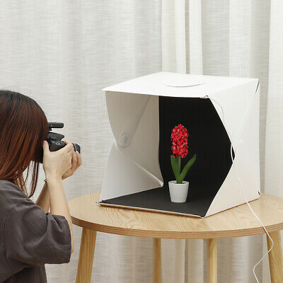 Portable Mini Folding Photo Studio Photography Box LED Light Shoot Tent Foldable