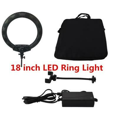 18 Inch LED Ring Light 65W 3200-5500K Photography Lights Dimmable Ring Lamp