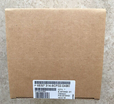 New In Box Siemens 6ES7314-6CF02-0AB0 6ES7 314-6CF02-0AB0 One year warranty #XR