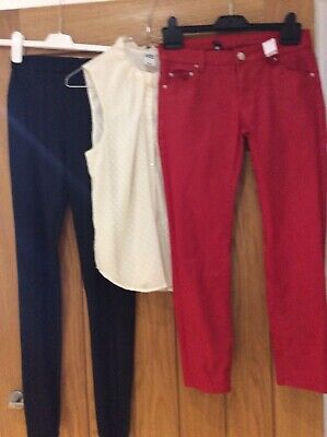 Bundle Ladies Items Top And Trousers From Zara And Topshop Size 8