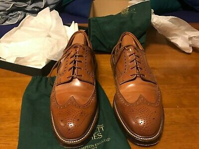 coupon codes exquisite style new authentic CROCKETT & JONES MTO Pembroke Whisky Shell Cordovan Long ...