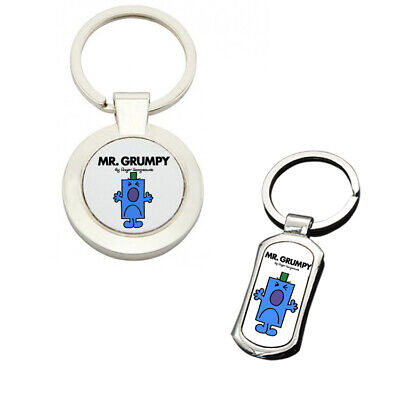 Grumpy But Lovely Taxi Novelty Joke Keyring Dad Gift Key Chain Ring Old Gits