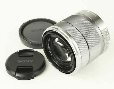 SONY E 18-55mm f3.5-5.6 SEL1855 AS IS Aspherical OSS Lens from Japan [Exc+]