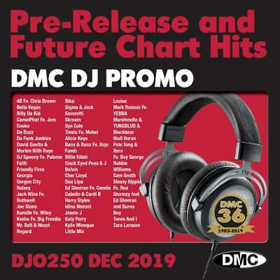 DJ Only 250 Promo Double Chart Music CDs ft. Billie Eilish 'Everything I Wanted'