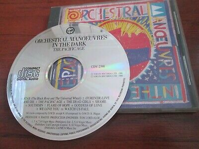 Orchestral Manoeuvres In The Dark ‎- The Pacific Age [CD 1986] NEAR MINT OMD