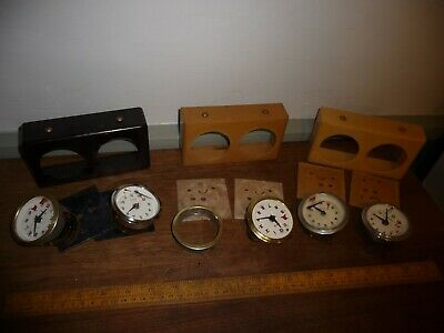 Vintage Chess Clocks for parts or repair . BCM /BHB Clocks - West German made