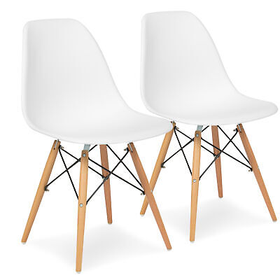 BCP Set of 2 Mid-Century Modern Dining Chairs
