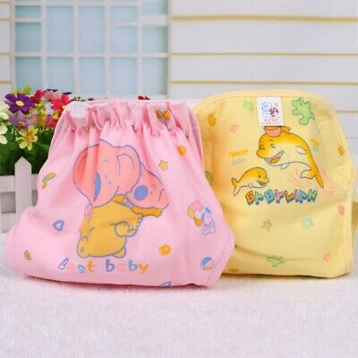 Washable Waterproof Cloth Diaper Cover Cartoon Baby Infant Diaper Reusable Nappy