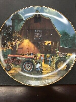 Dave Barnhouse Remembers SATURDAY NIGHT SPECIAL Plate Tractor #2 Farm