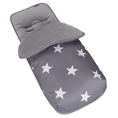 Dolphin Grey Premium Footmuff//Cosy Toes Compatible with Chicco Echo