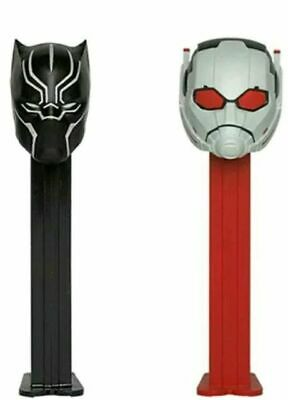 Pez 2019 Marvel 2 Pack BLACK PANTHER ANT MAN New in Gift Box