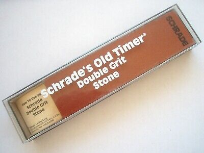 Schrade's Old Timer Double Grit Sharpening Stone
