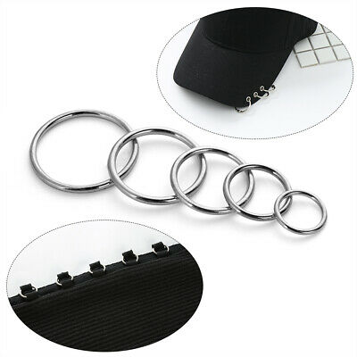 Backpack Webbing  Pet Collar Bag Parts Sewing Accessories  Metal Buckle O Ring