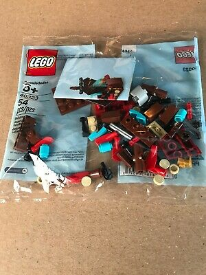 Lego Polybag 40323  MICRO VIKING SHIP New /& Sealed NEVER SOLD RETAIL.