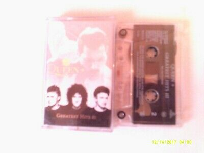 Queen- Greatest Hits 3      Cassette EX
