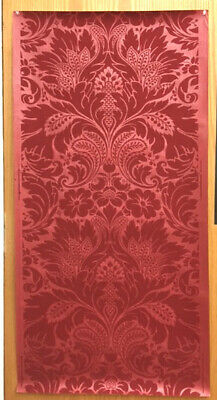 Antique Late 19th /Early 20th C. French Damask Wallpaper (8773)