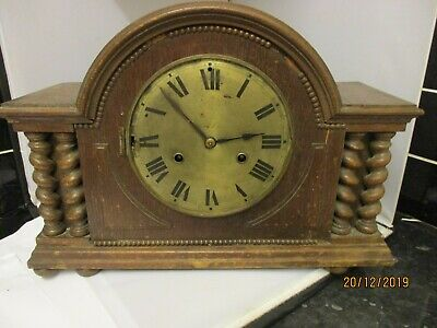 Old Mantle Clock, H.a.c.wurttemberg.project.