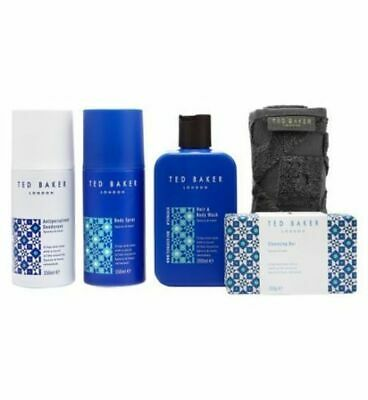 Mens x5 Piece Westminster Toiletrie Gift Set - Ted Baker - Brand new