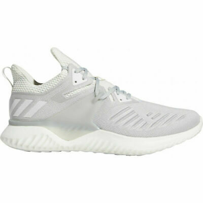 Size 10 adidas Alphabounce Beyond 2 Running Shoe White Platinum Grey Low Top Men