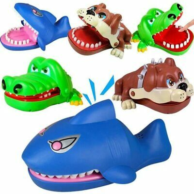 Mouth Dentist Bite Finger Toy Large Crocodile Pulling Teeth Bar Games Toys Kids
