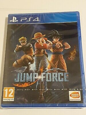 Jump Force - Ps4 Uk Game New Sealed *Free Uk Post*
