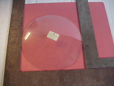 """New Old Stock 6 ½ """" wide 11/16"""" deep Convex Glass for Clock Bezel parts repair G"""