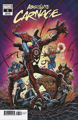 Absolute Carnage #5 (Of 5) Ron Lim Var Ac (STL137339) VF/NM   9.0 Stock Photo Ma