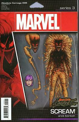 Absolute Carnage #5 (Of 5) Christopher Action Figure Var Ac (STL137334) VF/NM