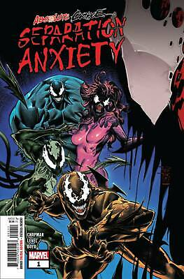 Absolute Carnage Separation Anxiety #1 Ac (STL126663) VF/NM   9.0 Stock Photo Ma