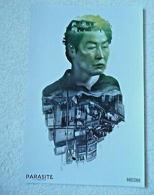 "2019 PARASITE Oscar Movie Promo Poster 11"" x 17"" Director Bong Joon-Ho - NEW"