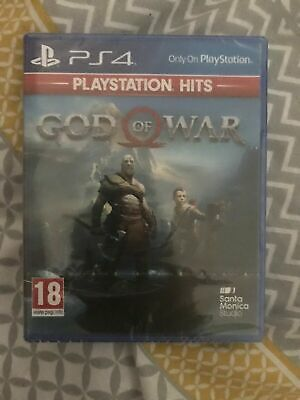God Of War PS4 Game (PlayStation Hits)  FREE UK P&P   NEW & FACTORY SEALED