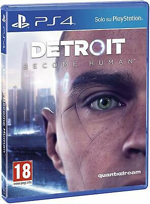 Detroit: Become Human per Playstation 4 PS4 NUOVO ITALIANO