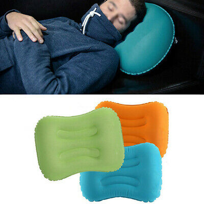 Ultralight TPU Neck Concave Air Pillow Inflatable Outdoor Camping CHZ