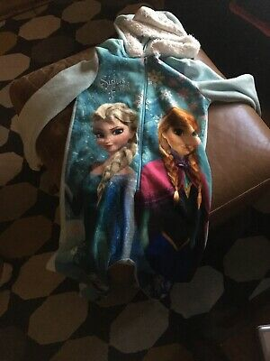 Girls Frozen Pjs All In One Age 7/8